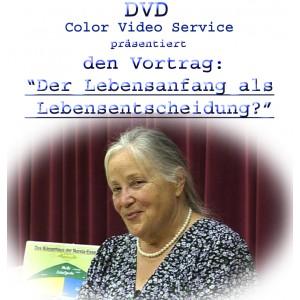 DVD Der Lebensanfang als Lebensentscheidung